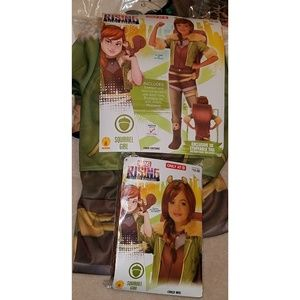 NEW Squirrel Girl Halloween Costume WITH WIG